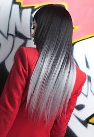 Rock grey ombre