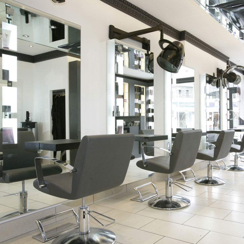 Reflections hair salon - Interior